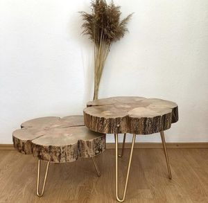 MASIV WOOD -  - Tischsatz