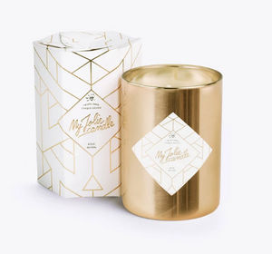 MY JOLIE CANDLE - gold edition - Duftkerze