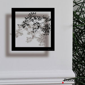 POETIC WALL - ombre branche - Sticker