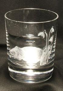 Jacqueline Allwood - gravé main - Whiskyglas