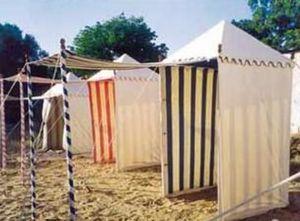 RAJ TENT CLUB - tente de plage - Strandzelt