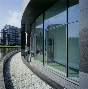 Sapa Building Systems -  - Glasfensterfront