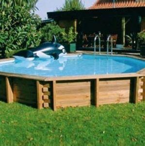 SUNBAY -  - Pool Mit Holzumrandung