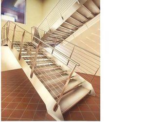 Er2m -  - Viertelgewendelte Treppe