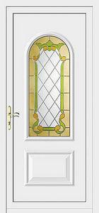 Aluporta -  - Verglaste Eingangstür