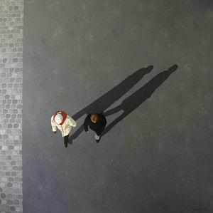 SOFIA MITEV - solitude 3 - Zeitgenössische Gemälde