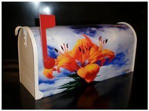 USMAILBOX - mailbox flowers - Briefkasten