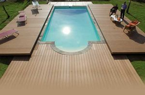 POOLDECK -  - Automatische Swimmingpoolabdeckung