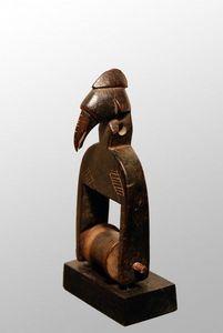 Galerie Olivier Castellano - poulie senoufo - Kleine Statue