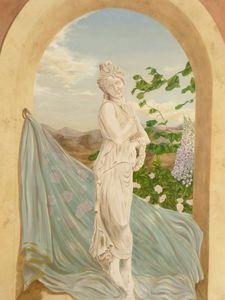 sandrine takacs decors - danseuse - Freske