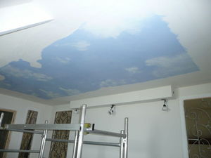 sandrine takacs decors - ciel - Bemalte Decke