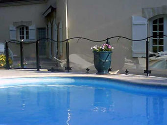 ART ET CLÔTURES - cristal - Poolzaun