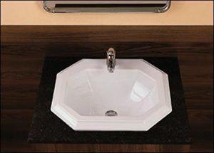 Falerii Ceramica Sanitari -  - Einbauwaschbecken
