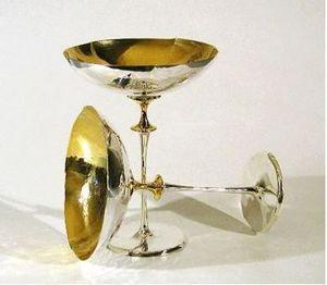 Roland Daraspe -  - Champagnerglas
