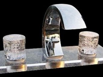 Les Verreries De Brehat -  - 3 Loch Badewanne Mischbatterie