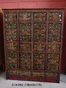 Anakita - Oriente - armario tibetano - Kleiderschrank