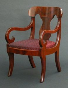 CHARLES AND REBEKAH CLARK - a classical child's arm chair - Kindersessel