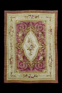 MARCO SALVATORI - aubusson, napoleon iii, cm 272 x 173 - Aubusson Teppich