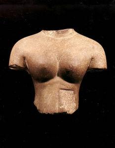 Jacques Barrere - buste de divinite feminine - Büste