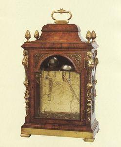 JOHN CARLTON-SMITH - john ellicott, london clockmaker to the king - Kleine Pendeluhr