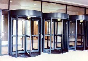 Horton Automatics - bank in jacksonville, fl - Automatiktür