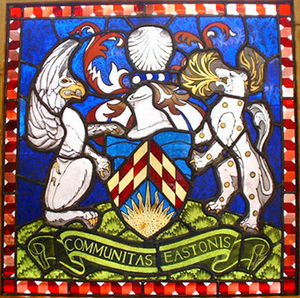Susan Smith Glass - heraldry - Buntglasfenster