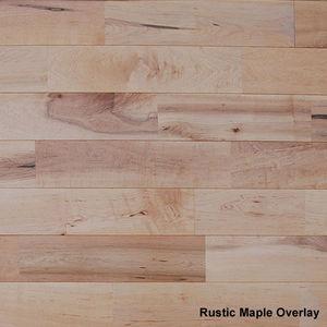 English Timbers - 15mm rustic maple overlay - Parkett
