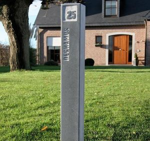 Signum Concept - ground - Hausnummerschild