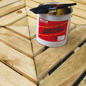 WATCO FRANCE - antiglisse spécial bois - Holzfarbe