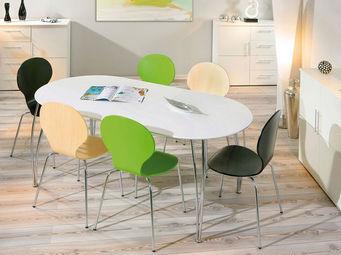 Miliboo - oxane table a manger - Ovaler Esstisch