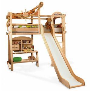 Woodland - long island - Hütte Bett Für Kinder