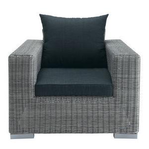 MAISONS DU MONDE - fauteuil gris bosphore - Sessel