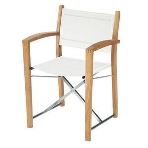 MAISONS DU MONDE - fauteuil blanc capri - Gartensessel