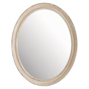 Maisons du monde - miroir elianne ovale beige - Spiegel