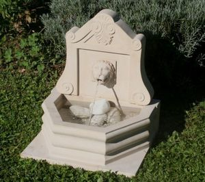 C2nt - lion manta white - Wandbrunnen
