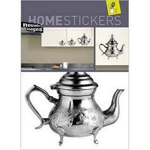 Nouvelles Images - stickers pour meuble théières nouvelles images - Sticker