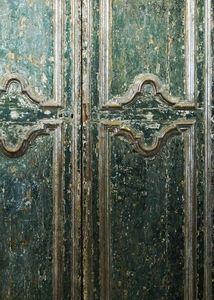 BLEU PROVENCE - porte ancienne - Antike Tür