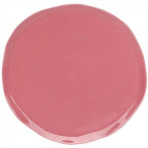 La Chaise Longue - assiette nymphea rose - Flache Teller