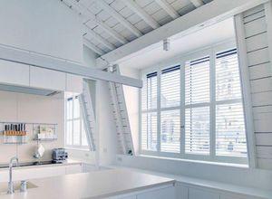 JASNO - shutters persiennes mobiles - Glasfensterfront