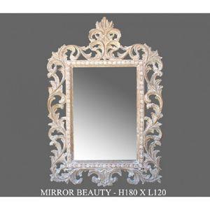 DECO PRIVE - miroir ceruse modele beauty - Spiegel