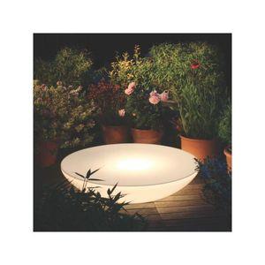 Moree - lounge variation outdoor - Leuchtender Couchtisch