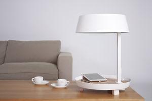 NEXEL EDITION - --carry /d2 blanc - Schreibtischlampe