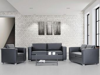 BELIANI - canapés en cuir - Sitzgruppe
