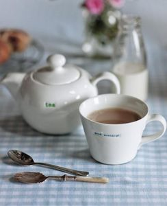 MAKE INTERNATIONAL - good morning! - Teetasse
