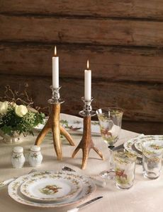 Clock House Furniture - candlestick, small - Kerzenständer
