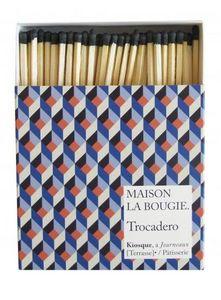 MAISON LA BOUGIE - trocadero - Streichholzschachtel