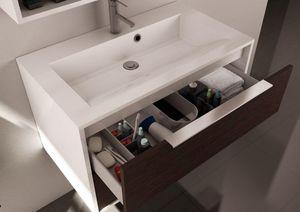 Allibert - edge - Waschtisch Möbel