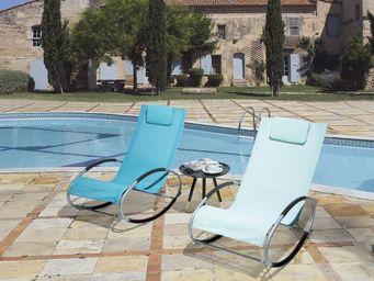 BELIANI - chaise de jardin - Chaiselongue
