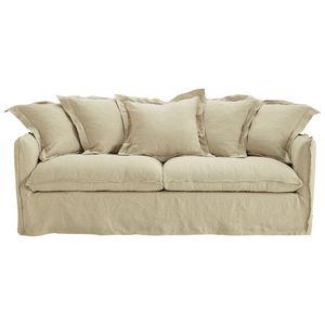 MAISONS DU MONDE - canapé lit 1371681 - Sofa 3 Sitzer