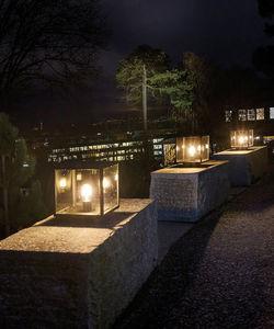 Norlys - lofoten pedestal - Leuchtpfosten